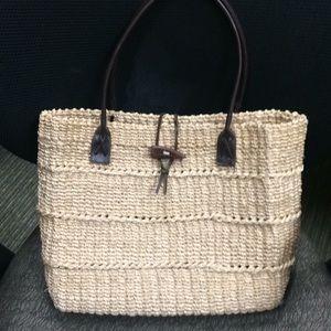 Handbags - New old stock straw bag
